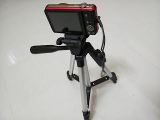 DK 3888 tripod with camera