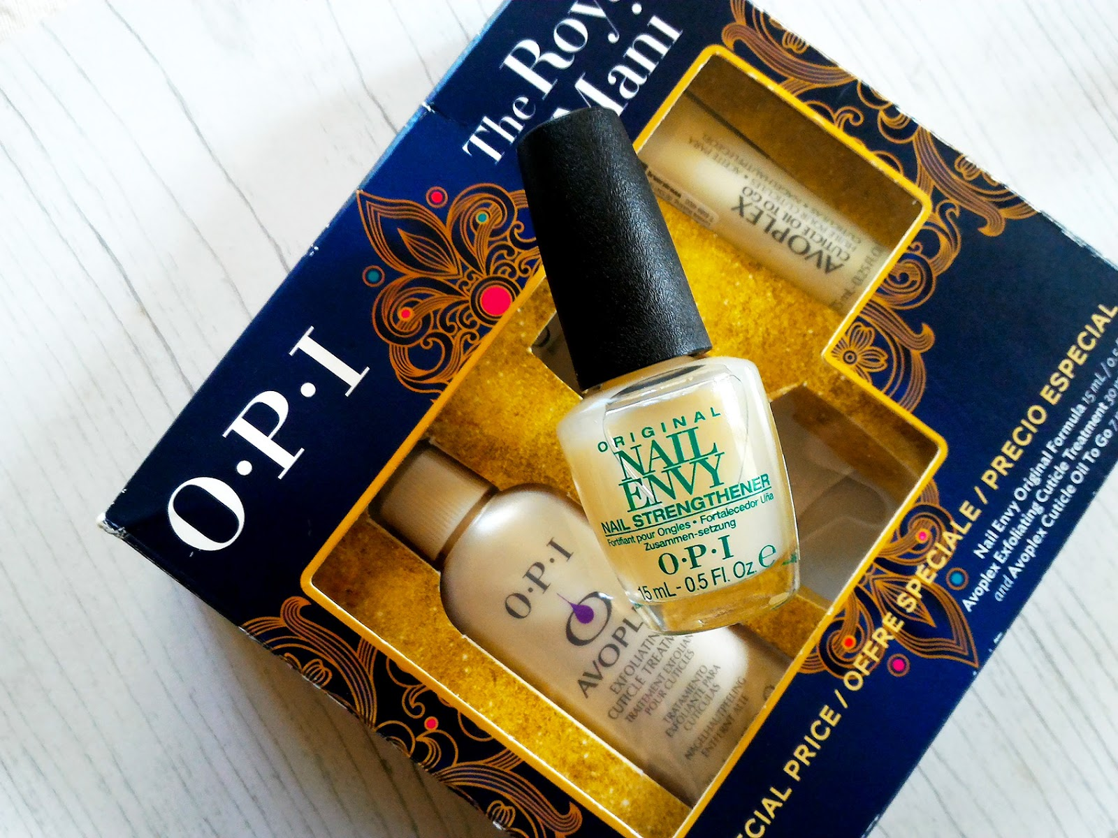 OPI The Royal Mani: Nail Envy Original Formula - Shash Stash