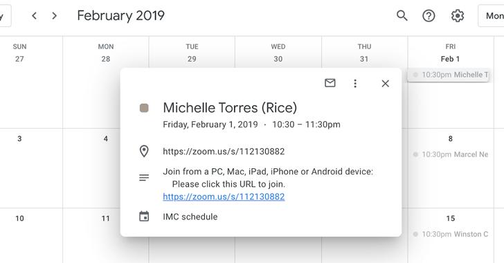 public google calendar