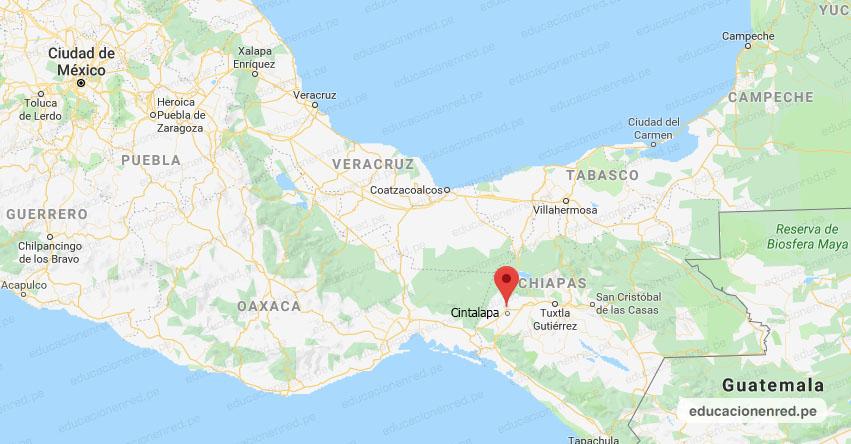 Temblor en México de Magnitud 4.1 (Hoy Viernes 24 Enero 2020) Sismo - Epicentro - Cintalapa - Chiapas - CHIS. - SSN - www.ssn.unam.mx