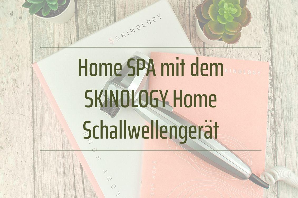 Home SPA SKINOLOGY Home Schallwellengerät Gesicht Körper Anti-Aging