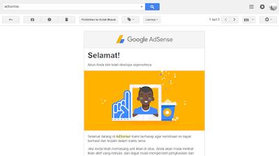 9 Fakta Diterima Google Adsense Dengan Cepat Dalam Hitungan Jam