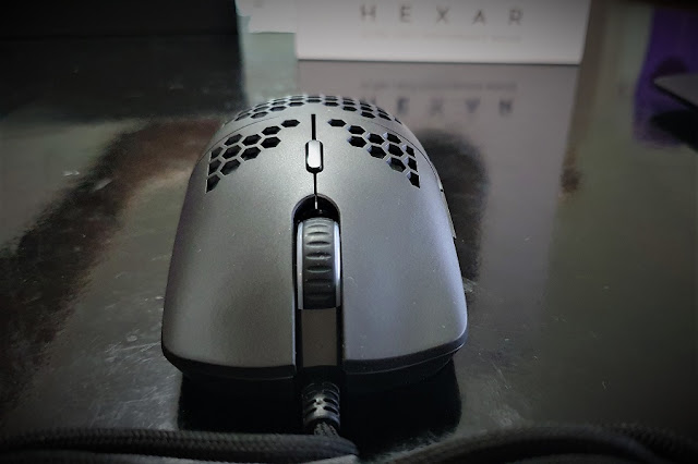 Hexar ultralight gaming mouse review