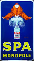 Spa Monopole, художник  Jean d'Ylen, 1923