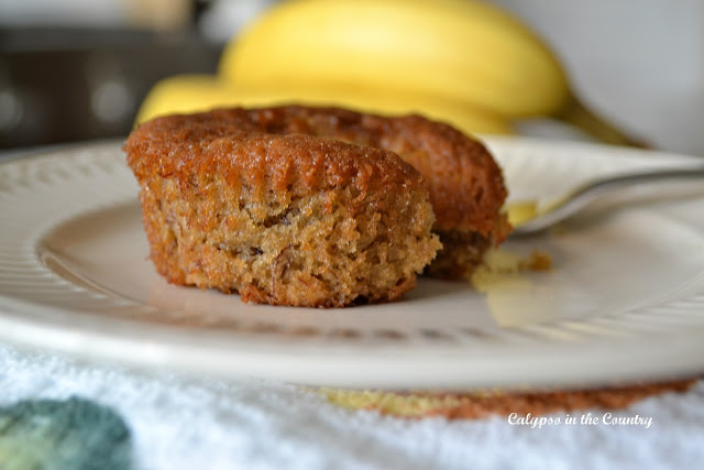 Fall Comfort Foods - Easy Banana Muffins