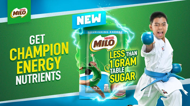 Introducing the NEW MILO® Less Than 1Gram Table Sugar