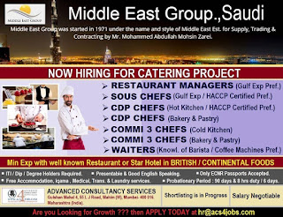 Middle East Group Catering Project