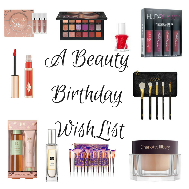 A Beauty Birthday Wish List