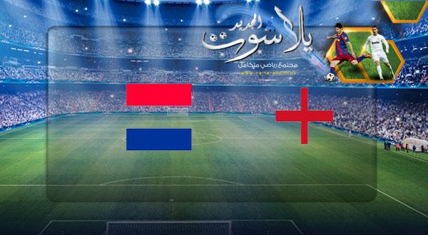 نتيجة مباراة انجلترا وهولندا بتاريخ 06-06-2019 دوري الأمم الأوروبية
