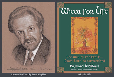 Raymond Buckland. Seax-Wica. Witchcraft. Wicca for Life. Magick. by Travis Simpkins