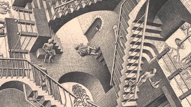 """""""Las escaleras de Belvedere"""", Capítulo I - W."""