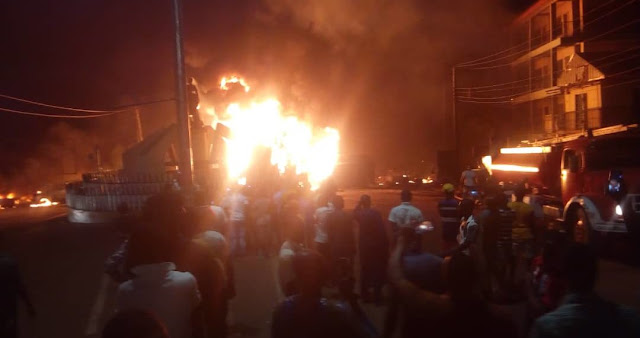 2 Killed, Many Injured As Tanker Explodes In Anambra
