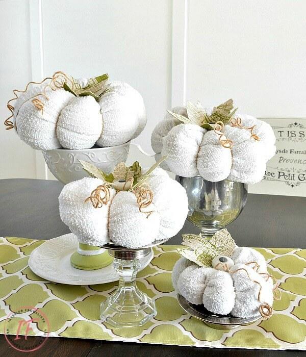 Cotton Terry Knit Sweater Pumpkin Patch