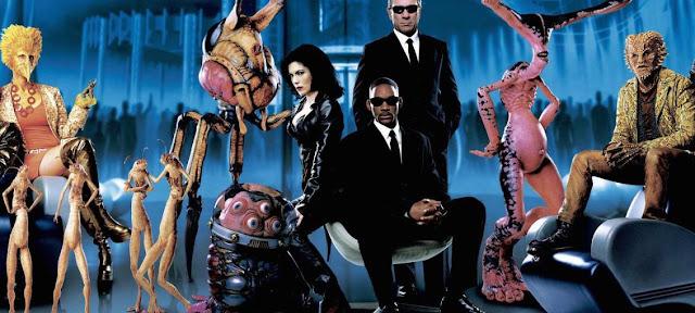 Filme Homens de Preto fantasia uma caça aos aliens