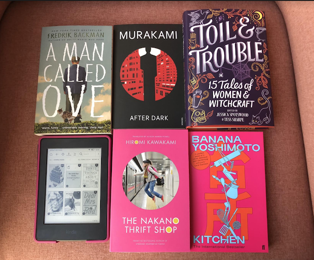 books A Man Called Ove Murakami Toil & Trouble Kitchen The Nakano Thrift Shop