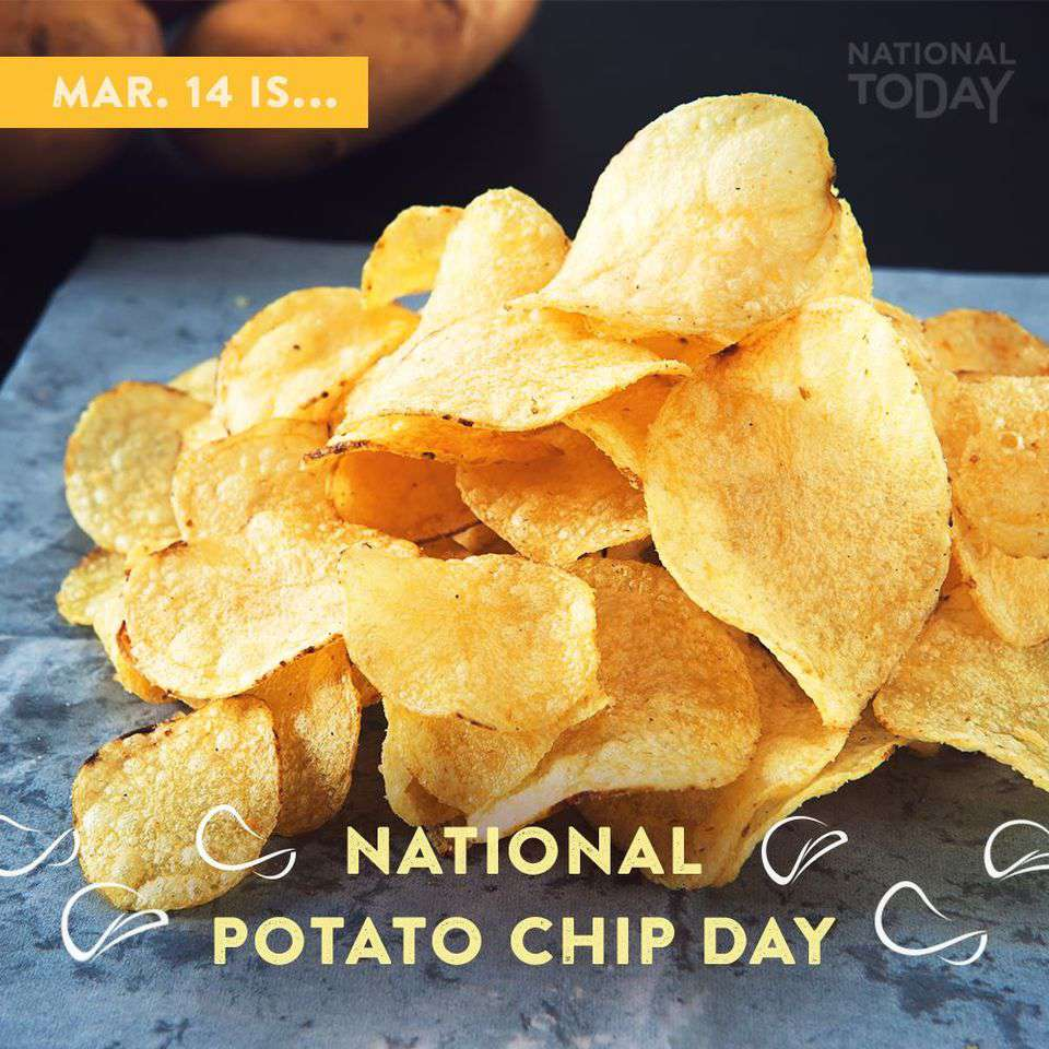 National Potato Chip Day Wishes Photos