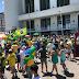 Salvador: Manifestantes vão ao Farol da Barra para prestar apoio à Bolsonaro e contestar ações do STF