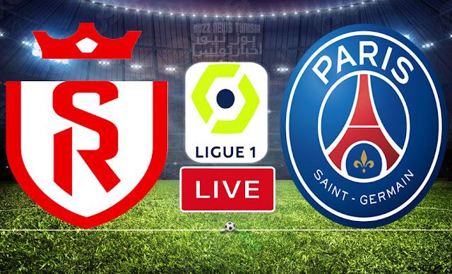En Direct Ligue 1 Reims vs Psg Live YouTube