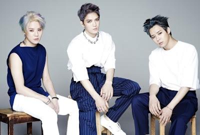 Foto de integrantes de JYJ con nuevo look