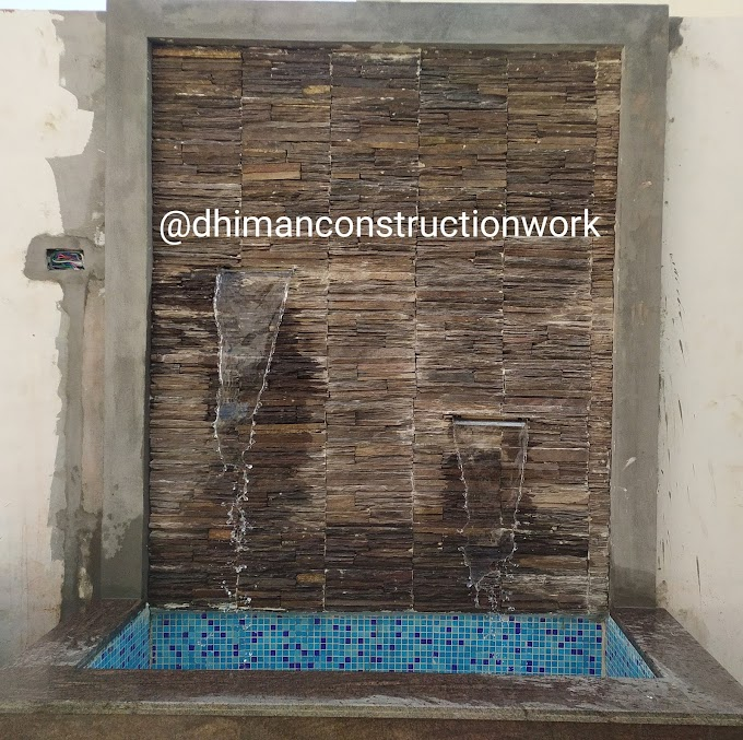 Here's how to use Granite Marble for Home Decoration. Work tips with Granite Marble for house Main Gate Ramp, Main Gate Piller and Flowerpots.
