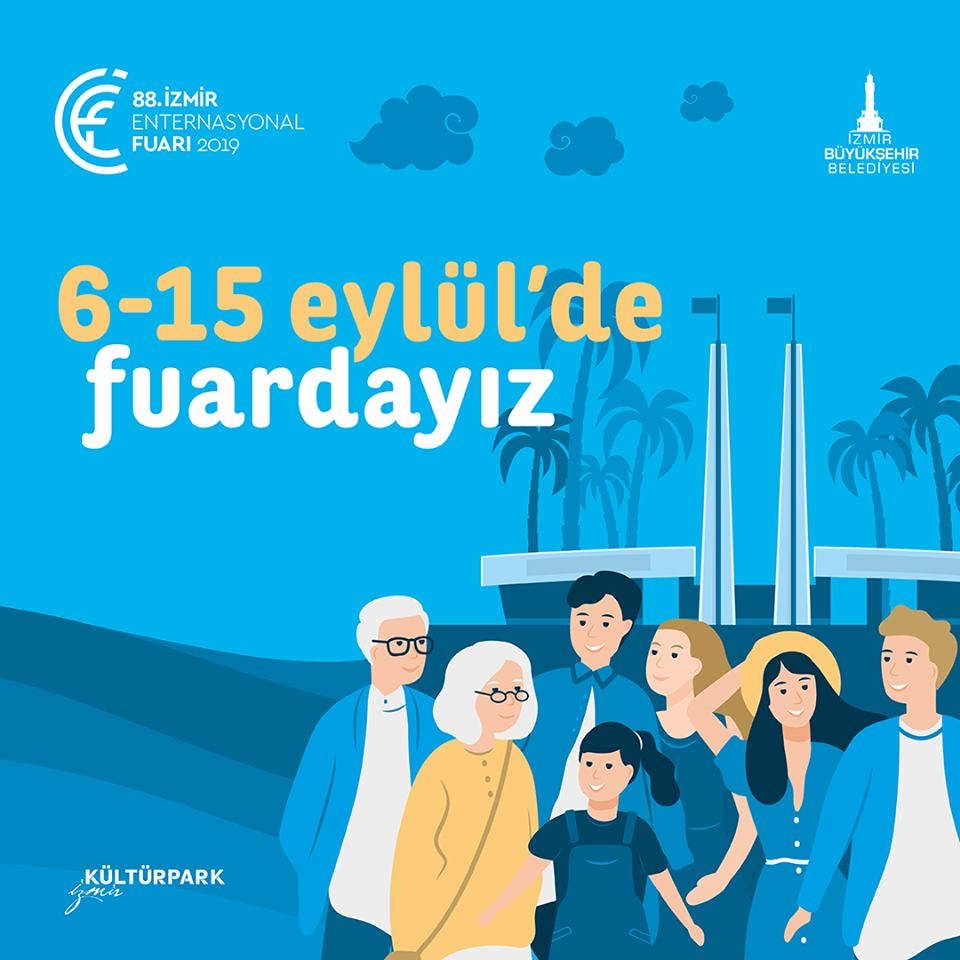 88 Izmir Enternasyonal Fuari 6 15 Eylul 2019