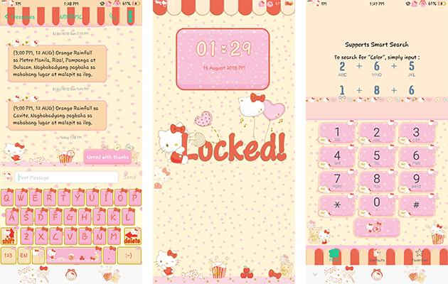 Oppo Theme: Oppo Hello Kitty Happiness Theme