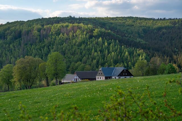 Kammweg Erzgebirge  Etappe 3+4 von Sayda nach Olbernhau  Wandern in Sachsen 19