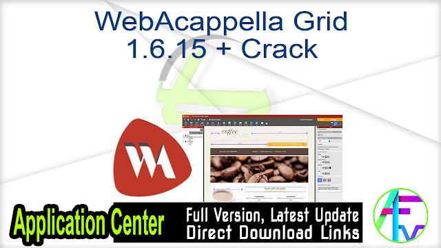 WebAcappella Grid 1.6.15 + Crack