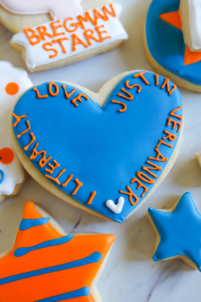 Houston Astros Cookies ♥ bakeat350.net : I Literally Love Justin Verlander, Jose Altuve quote