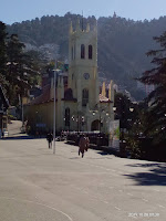 Traveling to the ridge, Christ Church