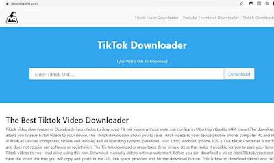 download video tiktok lite tanpa aplikasi