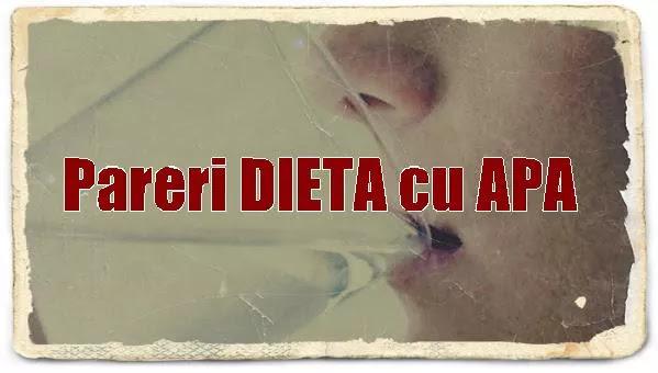 Apa e buna pentru dieta?