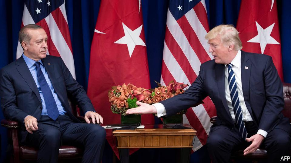 Tayyip Erdoğan vs trump