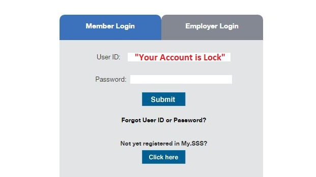 3 steps on how to unlocked sss online account the news bite