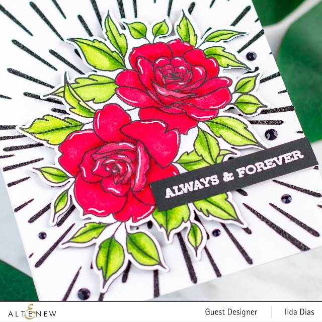 Altenew June 2019 Stamp/Die/Stencil Release Blog Hop + Giveaway by ilovedoingallthingscrafty.com