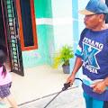 Cegah Virus Corona Covid 19, Warga Dusun Angsana Sambut Penyemprotan Disinfektan