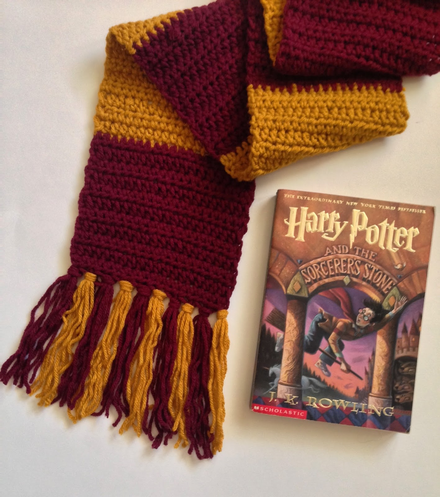 Beautiful Harry Potter Scarf Crochet Pattern Picture Collection ...