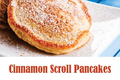 Cinnamon Scroll Pancakes