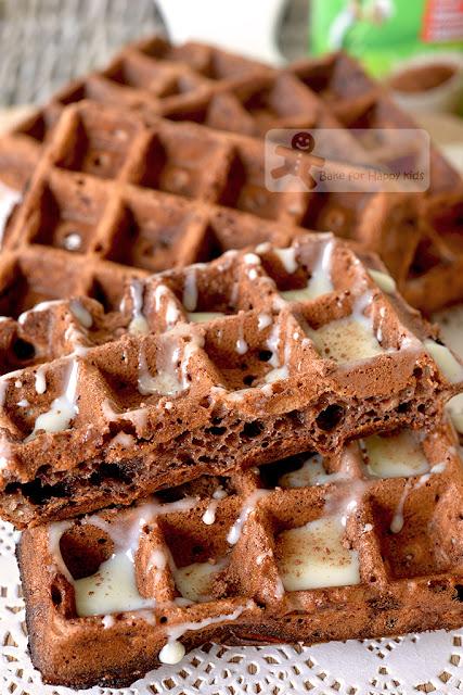 quick easy Milo waffles