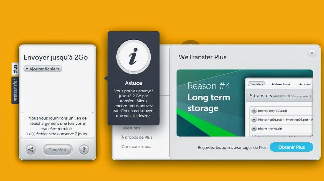 Comment envoyer de gros fichiers via le Web - Les Numériques