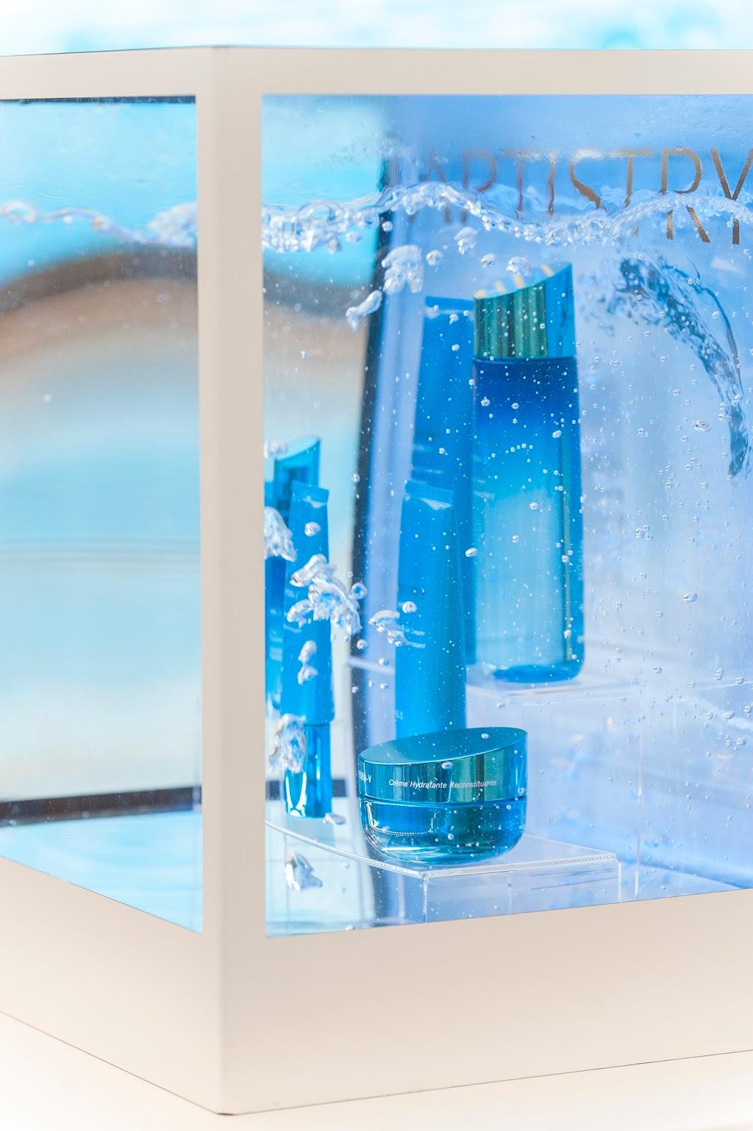 ARTISTRY Hydra-V, презентация ARTISTRY, ресторан Eliziy отзывы, увлажняющие средство для кожи, питание кожи.