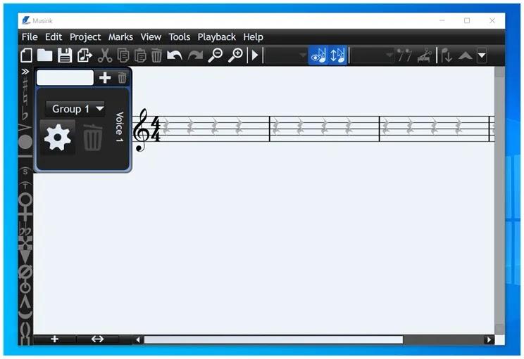 Musink Lite :  Δωρεάν εφαρμογή  σύνθεσης  μουσικής