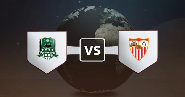 نتيجة مباراة اشبيلية وكراسنودار اليوم الثلاثاء 24 نوفمبر 2020 في دوري أبطال أوروبا