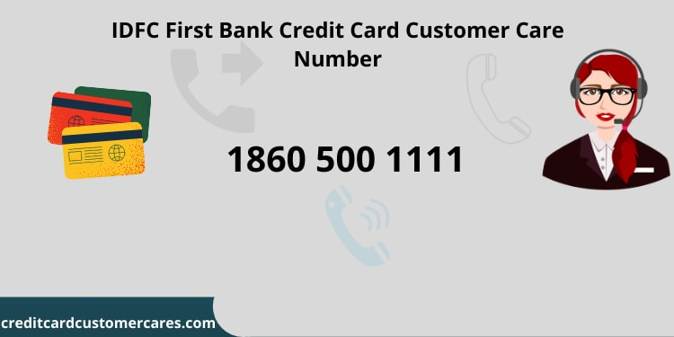 IDFC First Credit Card Customer Care Number