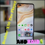 Specifications and features Realme X50 Pro Player