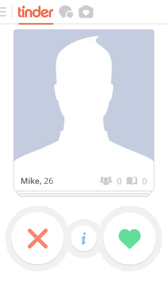 Blank dating profile template