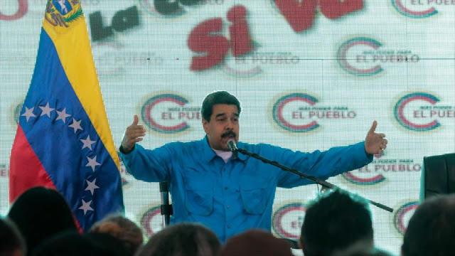 Maduro alerta: Venezuela activará su poderosa arma contra la CIA