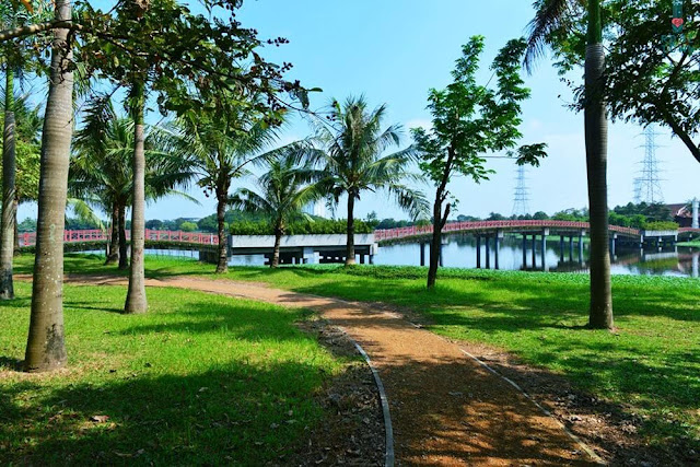 Quần thể công viên xanh Yên Sở