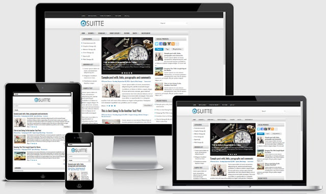 Suitte blogger theme
