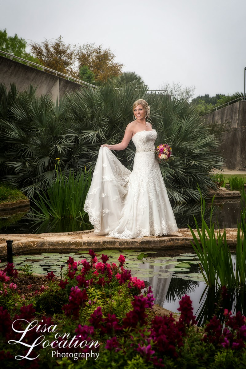 Lisa on location the san antonio botanical gardens never - San antonio botanical garden wedding ...